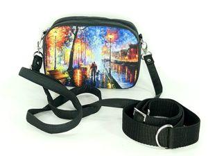 Поясная сумочка с двумя комплектами ремней. Ярмарка Мастеров - ручная работа, handmade.