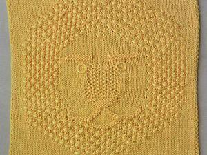 Каникулы Бонифация. Узор «Лев» спицами. Ярмарка Мастеров - ручная работа, handmade.