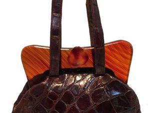 История создания сумок из крокодиловой кожи. Ярмарка Мастеров - ручная работа, handmade.