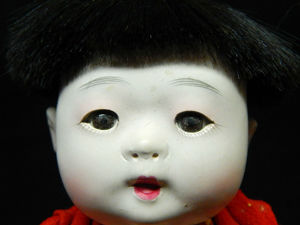 Антикварная японская куколка. Ярмарка Мастеров - ручная работа, handmade.