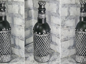 Unusual Bottle Decor: Video Tutorial. Livemaster - handmade