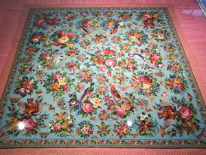 A Man-Made Miracle: the Famous Tablecloth with Birds from the Peranakan Museum in Singapore. Livemaster - handmade