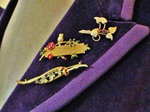 Изящные броши можно носить сразу по-несколько!. Ярмарка Мастеров - ручная работа, handmade.