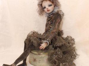 Детали кукольного костюма из стальной проволоки. Ярмарка Мастеров - ручная работа, handmade.