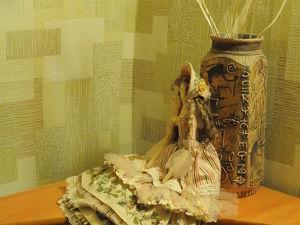 Куколка Ася в интерьере. Ярмарка Мастеров - ручная работа, handmade.