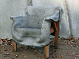 Открываем дачный сезон. Мягкая мебель из бетона и креативные скульптуры из цемента. Ярмарка Мастеров - ручная работа, handmade.
