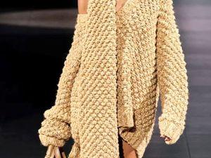 Вязаная мода. Осень-зима 2020-2021гг.  Обзор женской моды. Ярмарка Мастеров - ручная работа, handmade.