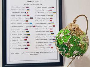 Как елочный шар Мира и дружбы объединил рукодельниц разных стран. Ярмарка Мастеров - ручная работа, handmade.