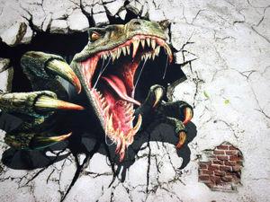 Динозавр в наличии!!!)). Ярмарка Мастеров - ручная работа, handmade.