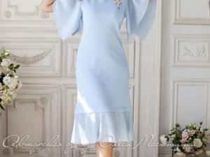 Аукцион на платье с воланами! Старт 2500 руб.!. Ярмарка Мастеров - ручная работа, handmade.