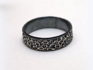 Серебряное кольцо видео. Ярмарка Мастеров - ручная работа, handmade.