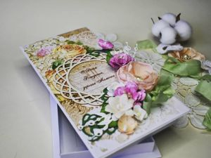 Мастер-класс: подарочная коробочка. Ярмарка Мастеров - ручная работа, handmade.