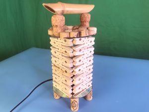 Создаем оригинальный фонарь из прищепок в китайском стиле. Ярмарка Мастеров - ручная работа, handmade.