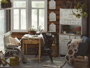 Финская художница создает дома мечты... в миниатюре. Ярмарка Мастеров - ручная работа, handmade.