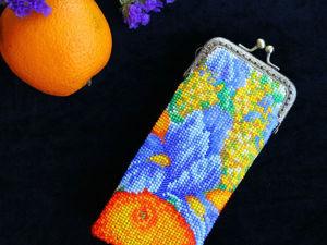 Видео мастер-класс: осваиваем вязание бисером. Урок 19. Прямое полотно с протяжкой нити. Ярмарка Мастеров - ручная работа, handmade.