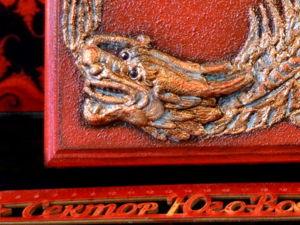 Красная шкатулка  «Дракон Богатства». Ярмарка Мастеров - ручная работа, handmade.