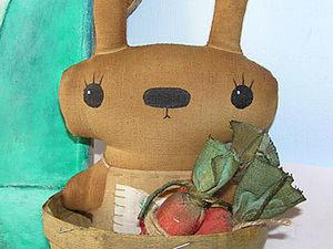 Морковка для зайчика ,текстильная.. Ярмарка Мастеров - ручная работа, handmade.