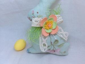 Мастер-класс по созданию текстильного пасхального зайца. Ярмарка Мастеров - ручная работа, handmade.