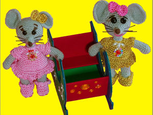 Вяжем мышку крючком. Часть 3. Ярмарка Мастеров - ручная работа, handmade.