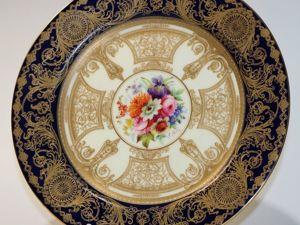 Роскошная, декоративная тарелка от мануфактуры  «Royal Worcester» , Англия, 1912 год. Ярмарка Мастеров - ручная работа, handmade.