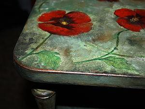 Декорирование тумбочки в технике декупаж. Ярмарка Мастеров - ручная работа, handmade.