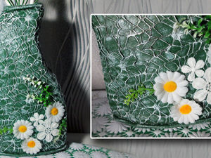 Превращаем пластиковую емкость в симпатичную вазу: видео мастер-класс. Ярмарка Мастеров - ручная работа, handmade.