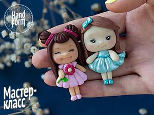 Делаем кавайных девочек из полимерной глины. Ярмарка Мастеров - ручная работа, handmade.