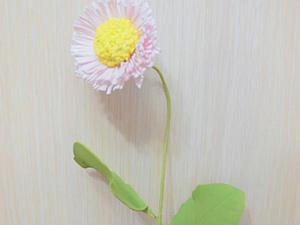 Делаем цветок маргаритки из фоамирана. Ярмарка Мастеров - ручная работа, handmade.