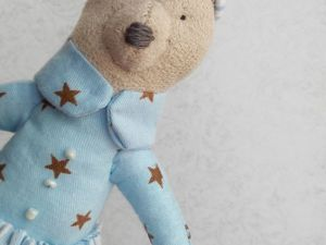 Мастер-класс по пошиву миниатюрной текстильной зайки. Ярмарка Мастеров - ручная работа, handmade.