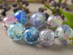 Цветочные шарики. Ярмарка Мастеров - ручная работа, handmade.