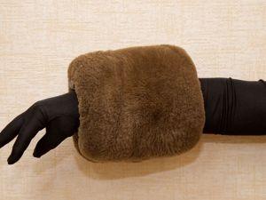 Муфта-тепло для Ваших рук!. Ярмарка Мастеров - ручная работа, handmade.