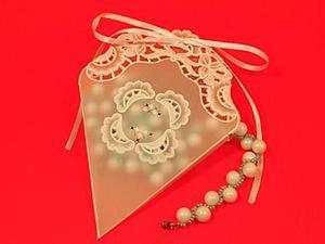Мастер-класс: подарочная упаковка «Конвертик» из плотной кальки. Ярмарка Мастеров - ручная работа, handmade.