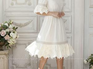 Аукцион на Очаровательное хлопковое летнее платье! Старт 2500 руб.!. Ярмарка Мастеров - ручная работа, handmade.
