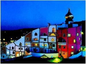 Friedensreich Hundertwasser — путешествие по мечтам. Ярмарка Мастеров - ручная работа, handmade.