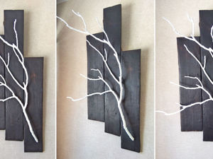 Making Decor of Old Boards and Branches. Livemaster - handmade