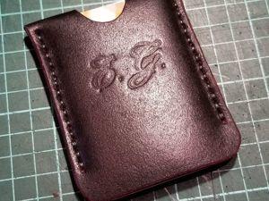 Кардхолдер одной деталью для начинающих. Ярмарка Мастеров - ручная работа, handmade.