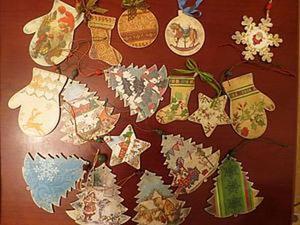 Новогодние подвески своими руками. Ярмарка Мастеров - ручная работа, handmade.