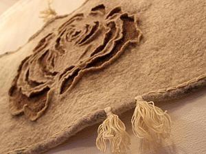 """Мастер-класс по изготовлению валяного панно """"Роза"""". Продолжение. Ярмарка Мастеров - ручная работа, handmade."""
