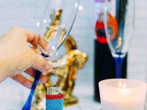 Сменный чехол для зажигалки. Ярмарка Мастеров - ручная работа, handmade.