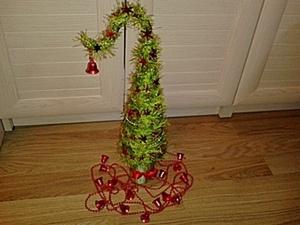 """Топиарий """"Новогодняя ёлка"""". Ярмарка Мастеров - ручная работа, handmade."""