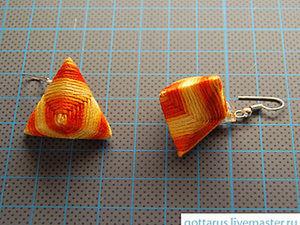 Делаем необычные серьги-берлинго. Ярмарка Мастеров - ручная работа, handmade.
