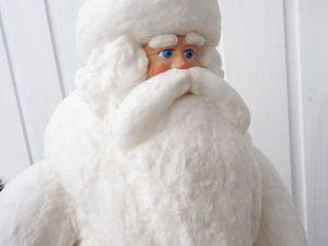 Реставрируем советского Деда Мороза. Ярмарка Мастеров - ручная работа, handmade.
