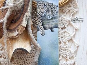 Кулон с леопардом. Ярмарка Мастеров - ручная работа, handmade.
