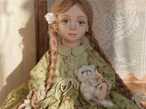 Кукла Алиса. Ярмарка Мастеров - ручная работа, handmade.