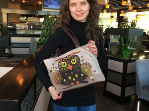 В кафе – с модной женской сумкой!. Ярмарка Мастеров - ручная работа, handmade.