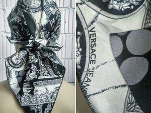 Новый тренд сезона — банданы — как их носить. Ярмарка Мастеров - ручная работа, handmade.