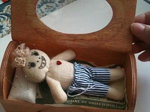 Создание куколки Вуду с хорошими намерениями. Ярмарка Мастеров - ручная работа, handmade.
