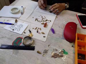 Фотоотчет о мастер-классе по созданию украшений. Ярмарка Мастеров - ручная работа, handmade.