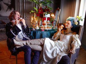Фотосессия в стиле Марии Антуанетты с моими украшениями. Ярмарка Мастеров - ручная работа, handmade.