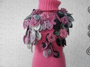 Распродажа  шарфиков-колье! от 799 руб!. Ярмарка Мастеров - ручная работа, handmade.